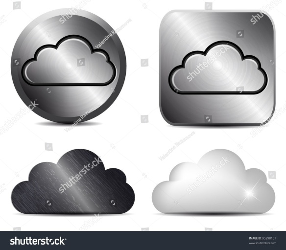 stock-vector-vector-metal-button-with-cloud-icon-95298151